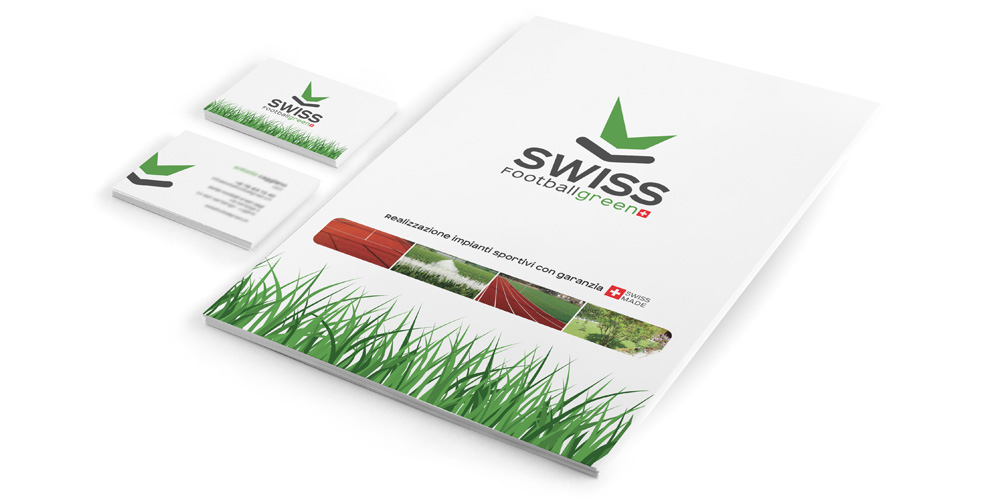 swiss football green